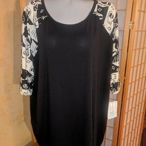 Lularoe tunic top, NEW with tags, 2X